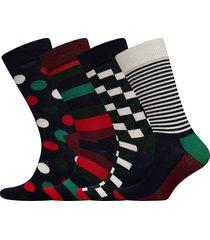 holiday big dot gift box sockor strumpor multi/mönstrad happy socks