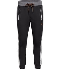 gymtech colourblock jogger sweatpants mjukisbyxor svart superdry