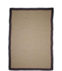 women's salvatore ferragamo stole the gancini modal & wool scarf, size one size - black