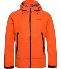 hydrotech waterproof jacket regenkleding oranje superdry