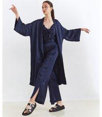 kimono azul desiderata stardust