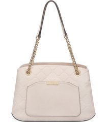 nine west kennedy jet set shoulder satchel