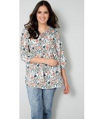 blouse janet & joyce offwhite::rozenhout