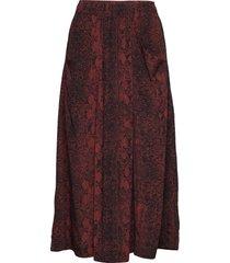 kavitaiw skirt lång kjol röd inwear