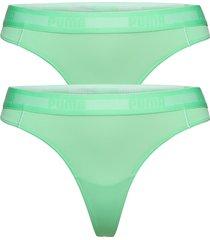 puma string 2p stringtrosa underkläder grön puma