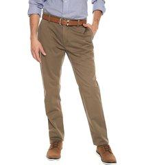 pantalon verde aceituna preppy chino 98% algodón 2% elastano bota 19