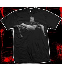 "tor johnson ""plan 9 from outer space"" - ed wood - hand-screened cotton t-shirt"