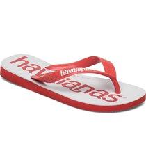 top logomania 2 shoes summer shoes flip flops röd havaianas