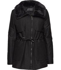 jackets outdoor woven fodrad rock svart esprit collection
