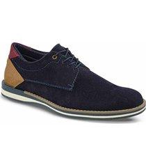 zapatos casual beethoven azul para hombre croydon