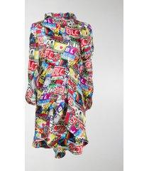 balenciaga twisted mini dress