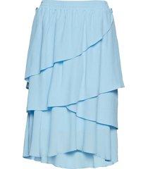 nini skirt knälång kjol blå designers, remix