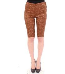 silk shorts broek