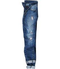 pantalon cat azul mujer 2810140-agn cat