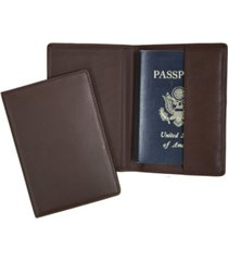 royce new york classic rfid blocking passport case