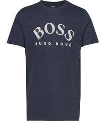 tee 5 t-shirts short-sleeved blå boss