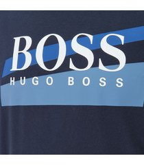hugo boss heren logo sweatshirt - blauw