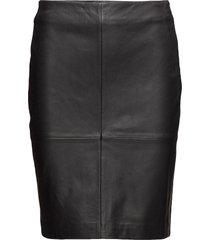 2nd cecilia knälång kjol svart 2ndday