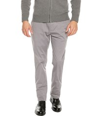 pantalon perfect grey preppy chino 98% algodón 2% elastano bota 19