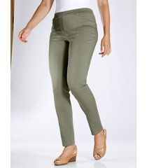 jegging m. collection olijf
