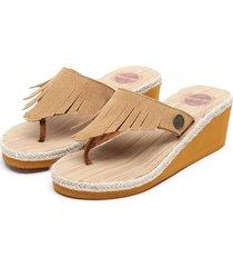 sandalia marrón mormaii