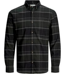 men's classic long sleeve check shirt