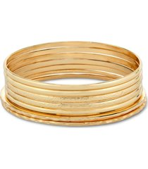 style & co 7-pc. set bangle bracelets, created for macy's