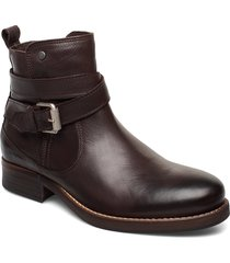 bristol shoes boots ankle boots ankle boots flat heel brun sneaky steve