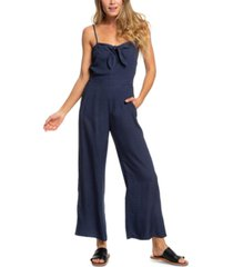 roxy juniors' feel the retro spirit strappy jumpsuit