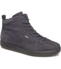 soft 1 w shoes boots ankle boots ankle boots flat heel grå ecco