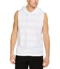 inc men's striped hooded tank, created for macy's