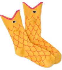 k. bell socks women's goldfish mouth crew socks