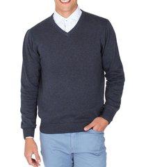 sweater casual azul marino arrow