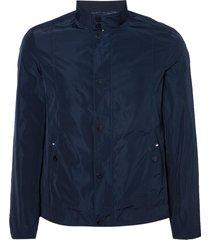 jaqueta dudalina maquinetada masculina (azul marinho, xgg)