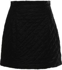 lautre chose velvet skirt