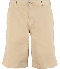 woolrich cotton bermuda shorts