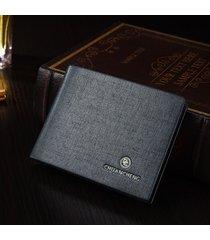 billetera super- estuche para tarjetas con monedero-azul
