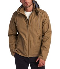 barbour men's linfield hooded rain jacket