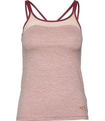 kine top t-shirts & tops sleeveless rosa kari traa
