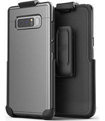 encased galaxy note 8 belt case, [slimshield edition] protective grip case with