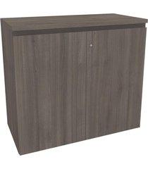 armário para escritório baixo 2 portas office 2011 3011 carvalho - kappesberg