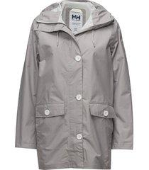 w elements raincoat outerwear sport jackets grijs helly hansen
