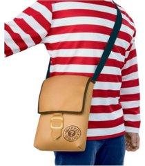 buyseason men's where's waldo messenger bag