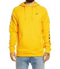 men's vans versa hoodie, size x-large - yellow