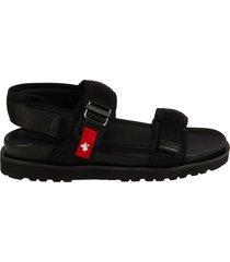 dsquared2 belt strip flat sandals