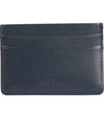a.p.c. designer men's bags, andre card holder