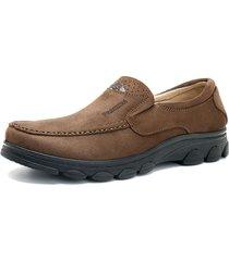 scarpe casual da uomo piatte stile vintage in tessuto stile pechino