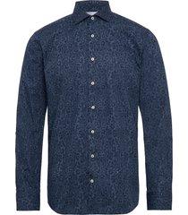 bs brock skjorta casual blå bruun & stengade