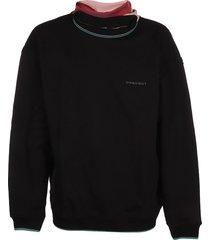 y/project three neck sweatshirt