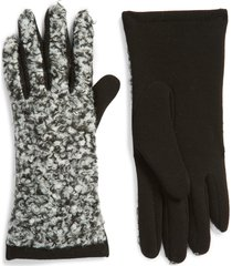 men's nordstrom boucle gloves, size one size - grey